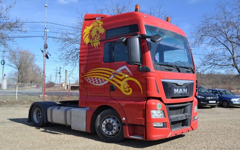 Cap tractor MAN TGX 18.480 XXL MEGA