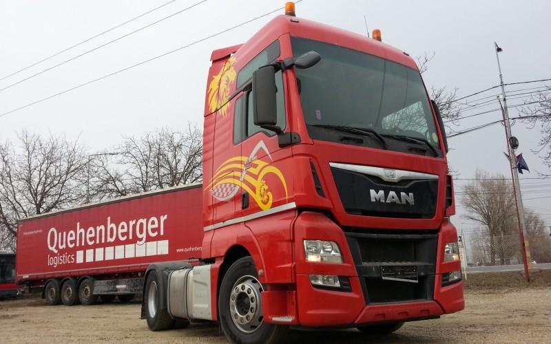 Cap tractor MAN TGX 18.480 XXL