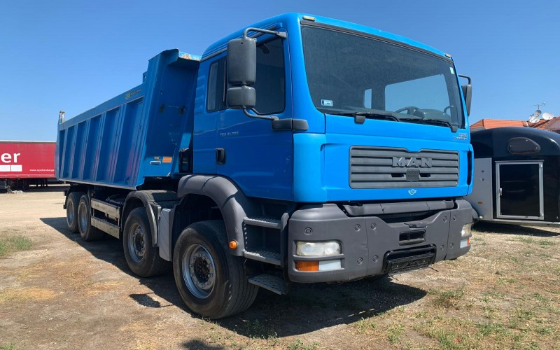 Camion MAN  41.390 TGA 8X4
